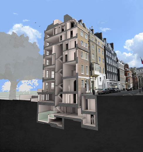 Model: modern  by Prestige Architects By Marco Braghiroli, Modern
