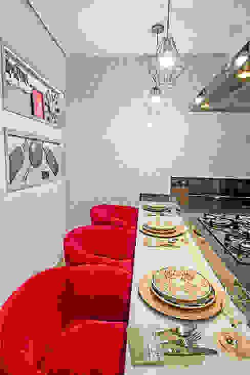 Nowoczesna kuchnia od Natália Sundfeld Arquitetura Nowoczesny