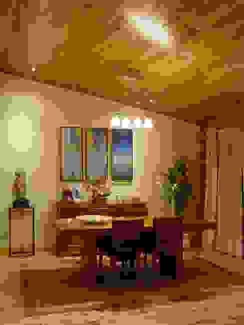 RUSTICASA | Casa en Dagorda | Cadaval Comedores de estilo moderno de Rusticasa Moderno Madera maciza Multicolor