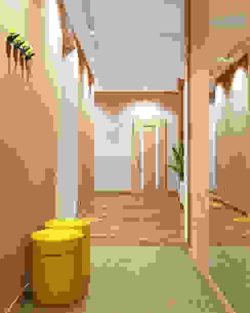 Koridor & Tangga Minimalis Oleh homify Minimalis Kayu Wood effect