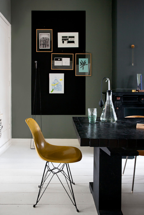 Eclectic style dining room by FORM MAKERS interior - concept - design Eclectic Stone