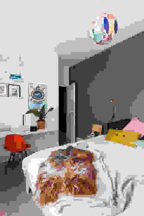 Slaapkamer Eclectische slaapkamers van FORM MAKERS interior - concept - design Eclectisch Kalksteen
