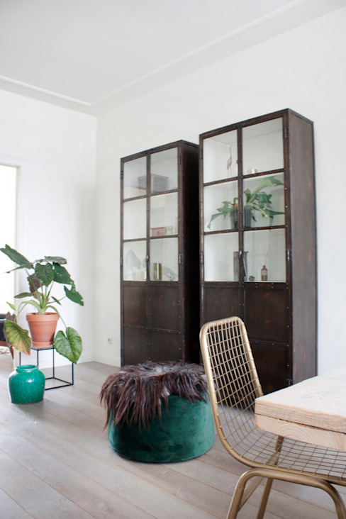Eclectic style dining room by FORM MAKERS interior - concept - design Eclectic Iron/Steel