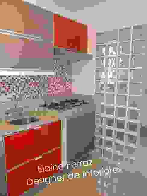 Cozinha por Elaine Ferraz Designer de Interiores Moderno Vidro