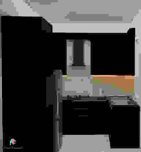 DLF Woodland Heights, 3 BHK - Mrs. Darakshan Modern kitchen by DECOR DREAMS Modern
