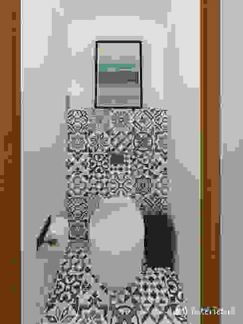 Les toilettes MJ Intérieurs Salle de bain moderne