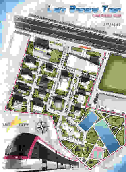Masterplan LRT city - Gatot subroto Road - Jakarta 1 bplusarsitektur
