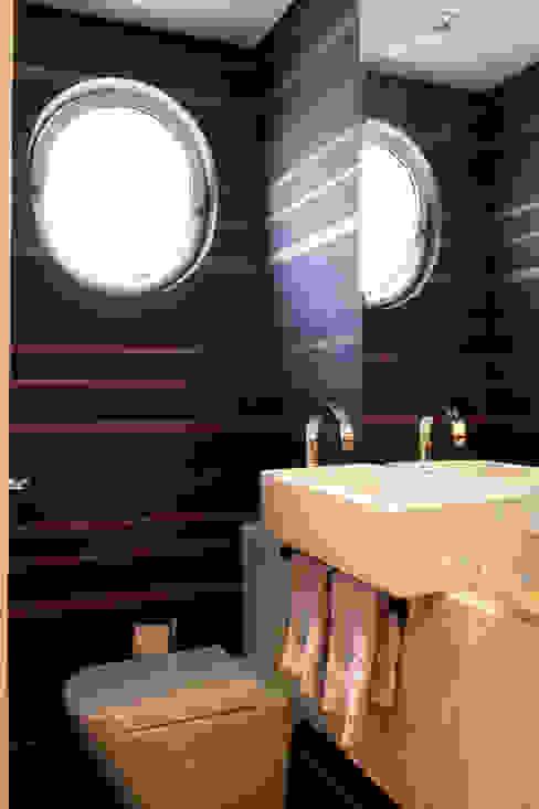 Lavabo Banheiros modernos por Daniel Kalil Arquitetura Moderno