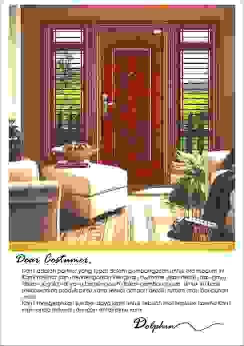 pintu gendong baja platinum:  Pintu by PT. Golden Prima Sentosa