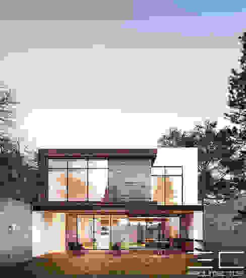 Rumah oleh 3C Arquitectos S.A. de C.V., Modern