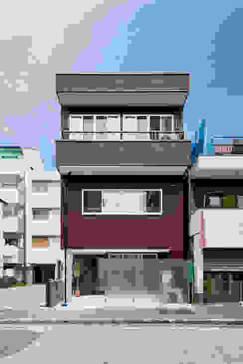 リノベーション後:外観 キリコ設計事務所 インダストリアルな 家