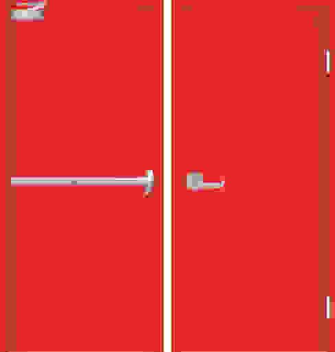 pintu emergency tahan api:  Windows & doors  by PT. Golden Prima Sentosa