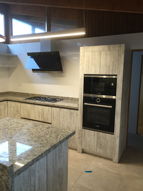 Remodelación Casa Mallarauco: Cocinas de estilo  por ARCOP Arquitectura & Construcción, Moderno