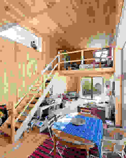 m architecture Ruang Keluarga Gaya Skandinavia