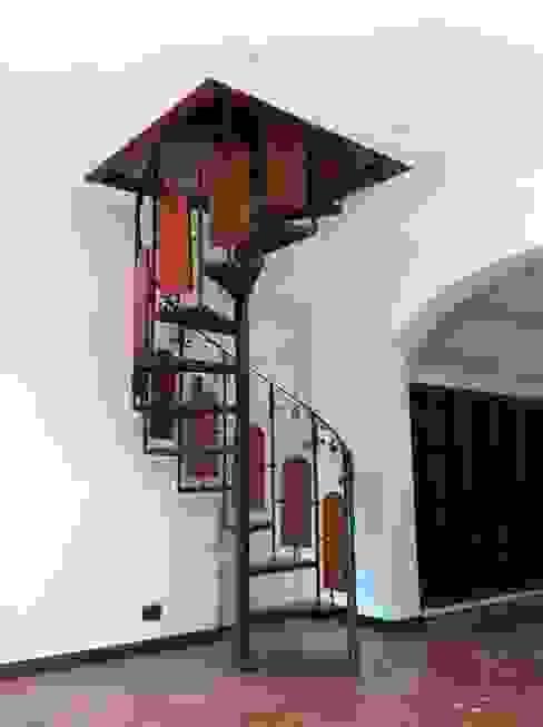 Remodelación Casa Arratia: Pasillos y hall de entrada de estilo  por ARCOP Arquitectura & Construcción, Colonial