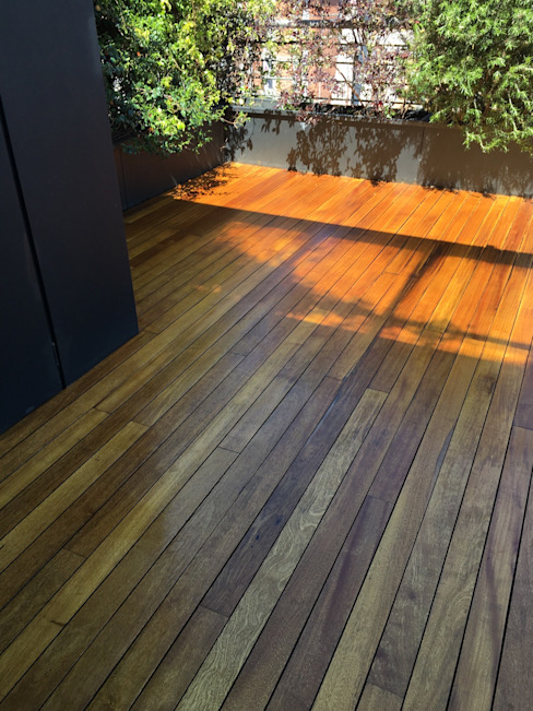 Decking in teak restaurato Soloparquet Srl