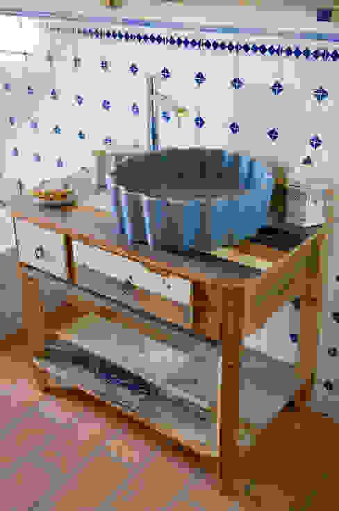 Bagni per casale in Val d'Orcia collaborazione arch. Settimio Belelli Laquercia21 Bagno rurale
