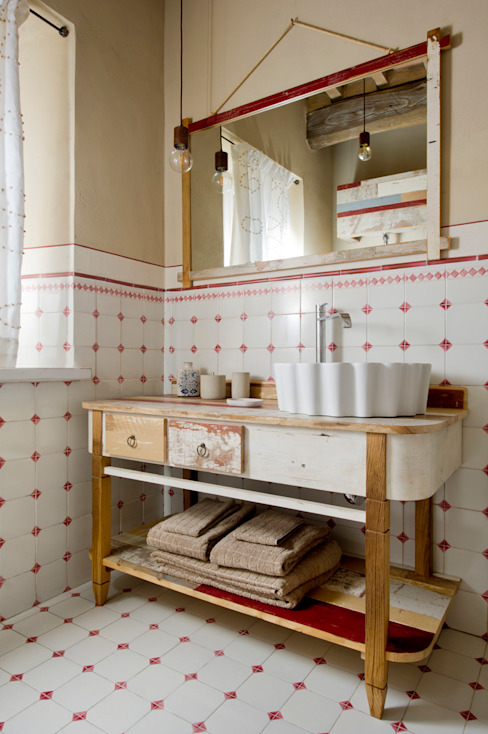 Country style bathroom by Laquercia21 Country