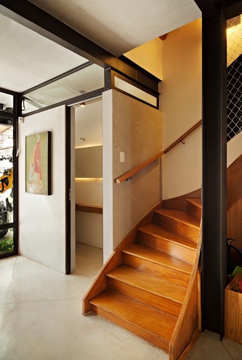 Hành lang theo ODVO Arquitetura e Urbanismo,
