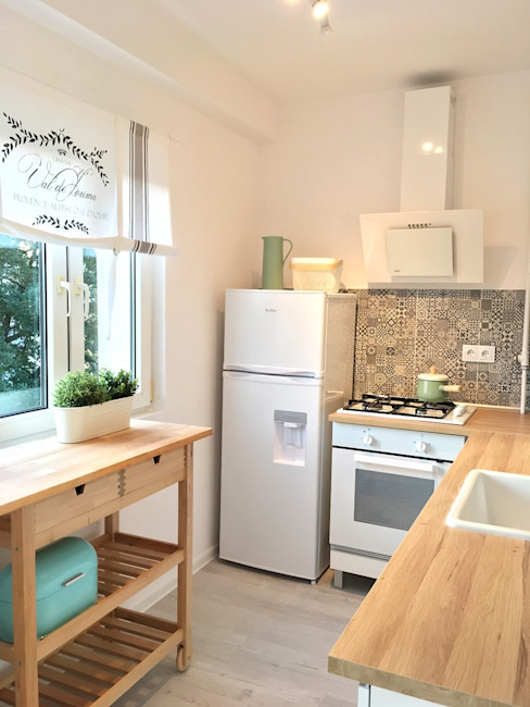 Pasja Do Wnętrz Cucina in stile scandinavo