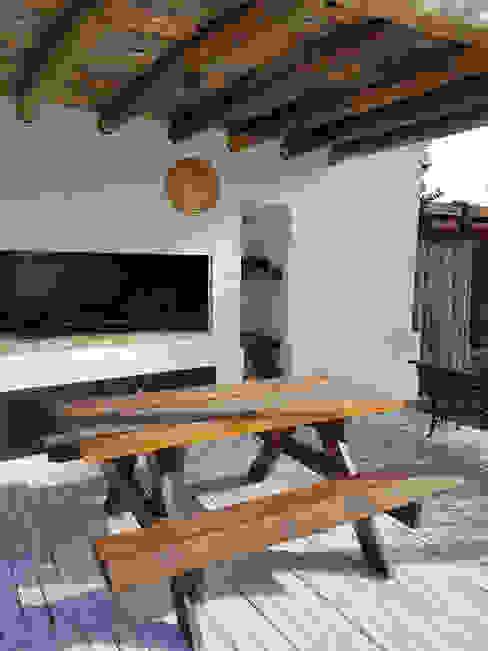 Casa Soljan Jardines de estilo mediterráneo de Estudio Victoria Suriguez Mediterráneo