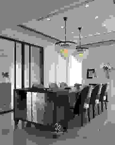 輕新新古典 根據 成綺空間設計 古典風