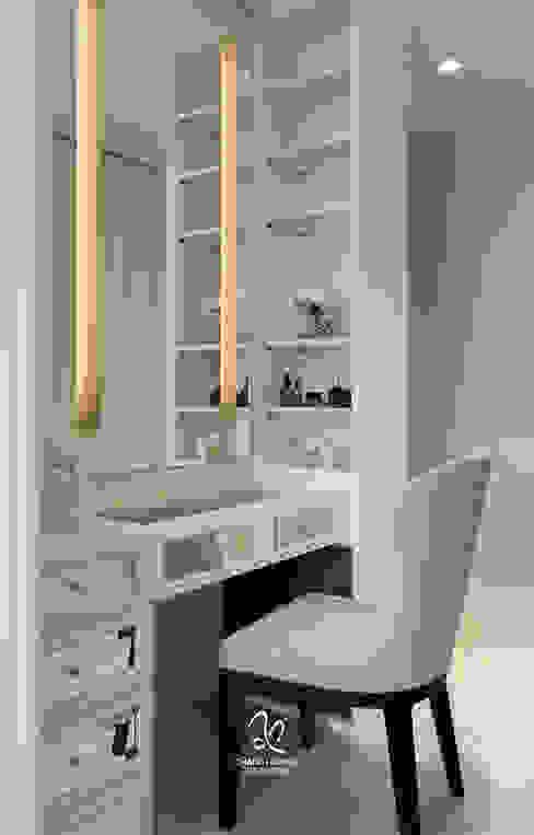 輕新新古典:  臥室 by 成綺空間設計