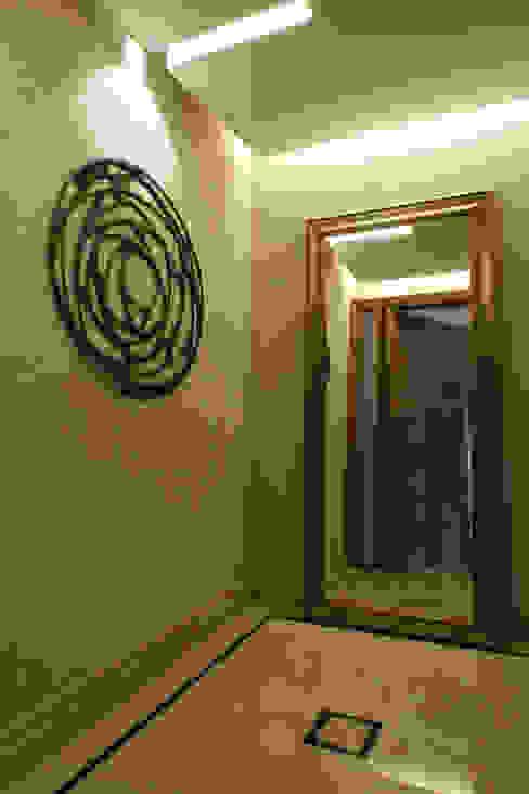 Hall do Elevador: Corredores e halls de entrada  por Fernanda Quelhas Arquitetura,Moderno