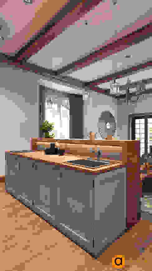 Artichok Design Кухня Дерево Білий