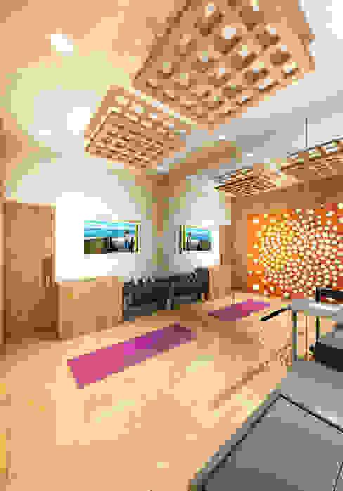 Prashant Residence Modern Gym by Gurooji Designs Modern