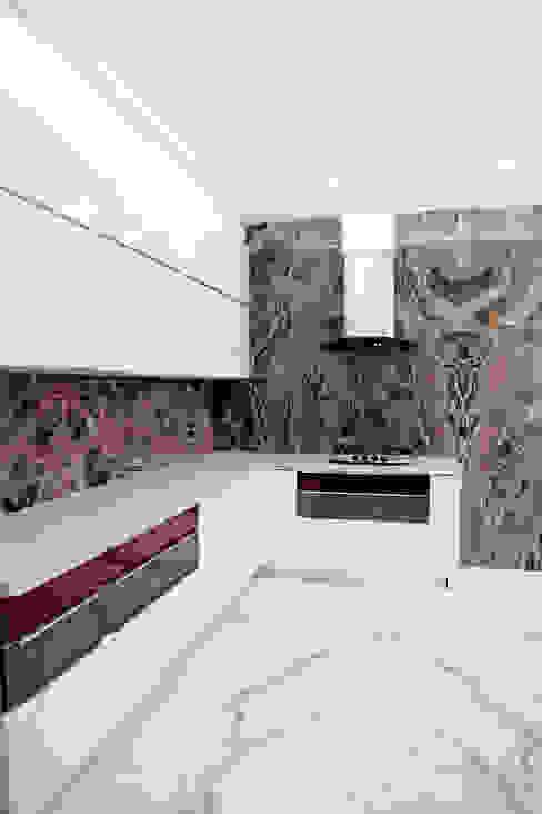 Modern Modular Kitchen by homify Modern
