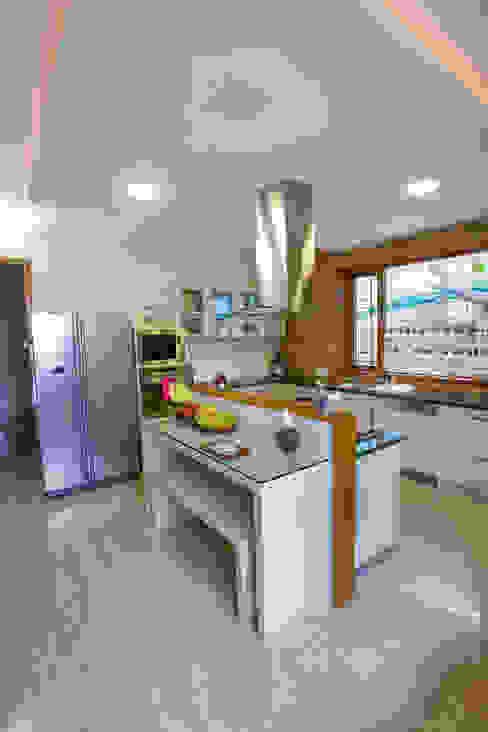 Master Kitchen on Ground Floor by The Workroom Modern