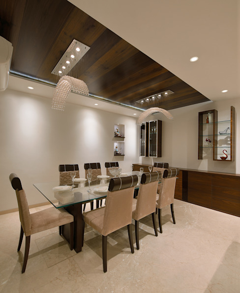 Dining Area Modern dining room by homify Modern