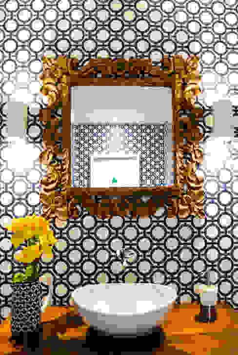 Apartamento Aristizabal - Alviar / Parte 1 Baños de estilo ecléctico de Tejero & Ángel Diseño de Interiores Ecléctico