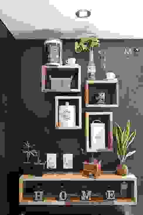 LOFT VF Paredes y pisos modernos de estudio M Moderno