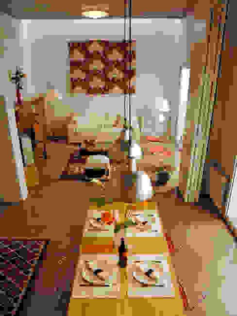 Salones de estilo moderno de Paula Mariasch - Juana Grichener - Iris Grosserohde Arquitectura Moderno