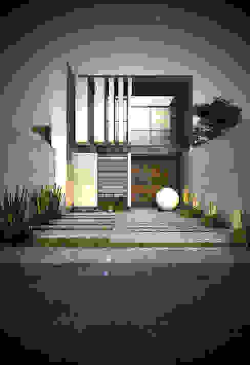 Casas de estilo minimalista de IMA GEN Minimalista