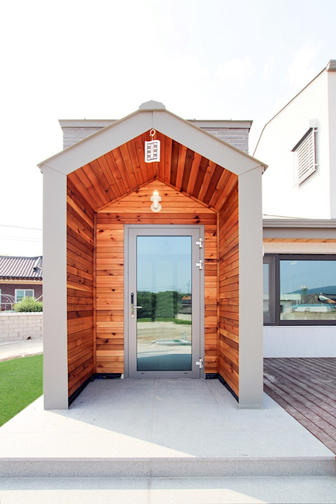 Modern style doors by homify Modern