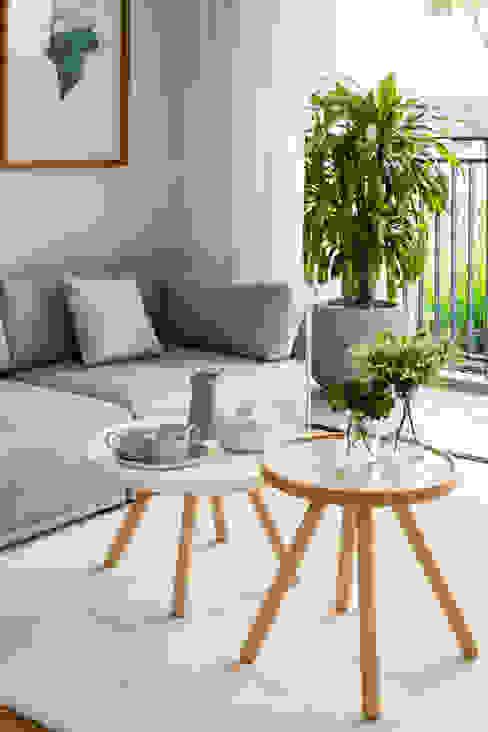 现代客厅設計點子、靈感 & 圖片 根據 MIA Design Studio 現代風