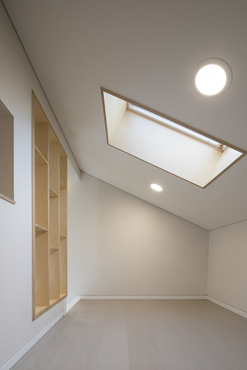 Рабочий кабинет в стиле модерн от 소하 건축사사무소 SoHAA Модерн