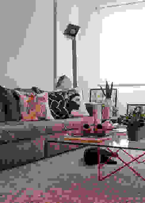 Sala de Estar integrada Moderna Contemporânea Salas de estar modernas por Decoradoria Moderno Vidro