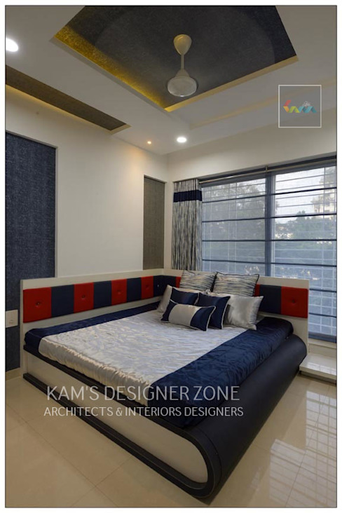 Bedroom Interior Design KAM'S DESIGNER ZONE Classic style bedroom