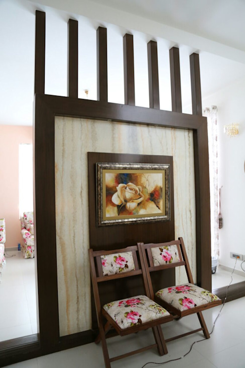 Mr. Fazal 's Home Interior Design Modern dressing room by Walls Asia Architects and Engineers Modern