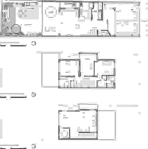 Nhà gia đình theo ODVO Arquitetura e Urbanismo,