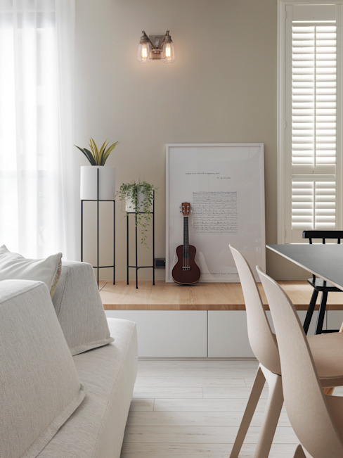 木星上的北歐幻想:  餐廳 by 賀澤室內設計 HOZO_interior_design