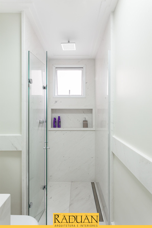 Banheiro Raduan Arquitetura e Interiores Banheiros modernos