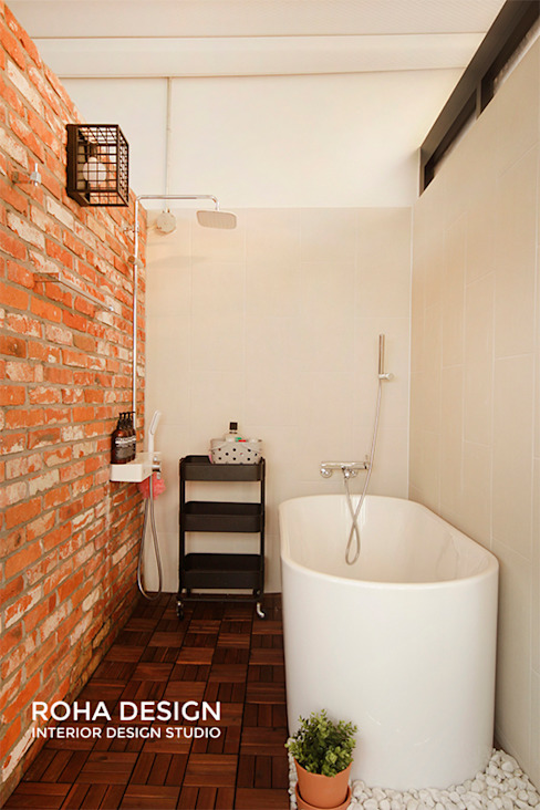 부산 복층 펜트하우스 테라스 인테리어 로하디자인 모던스타일 욕실