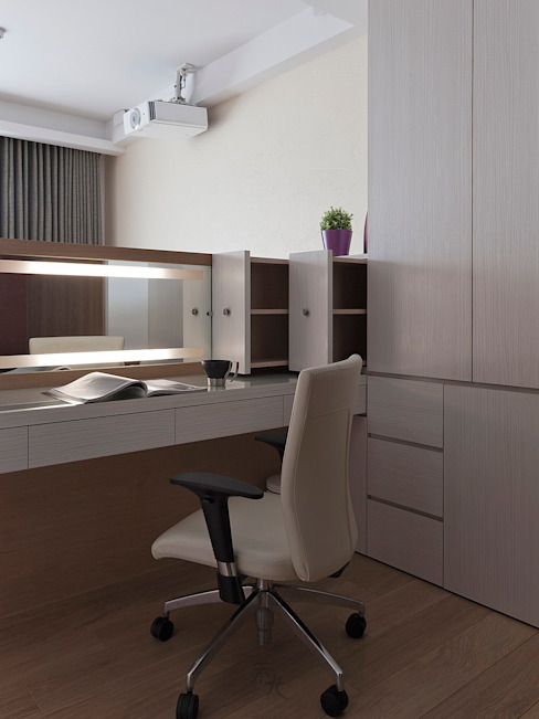 化妝桌設計 根據 禾光室內裝修設計 ─ Her Guang Design 現代風