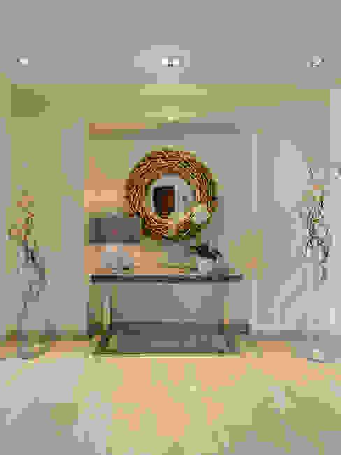 الممر والمدخل تنفيذ Hossam Nabil - Architects & Designers, حداثي
