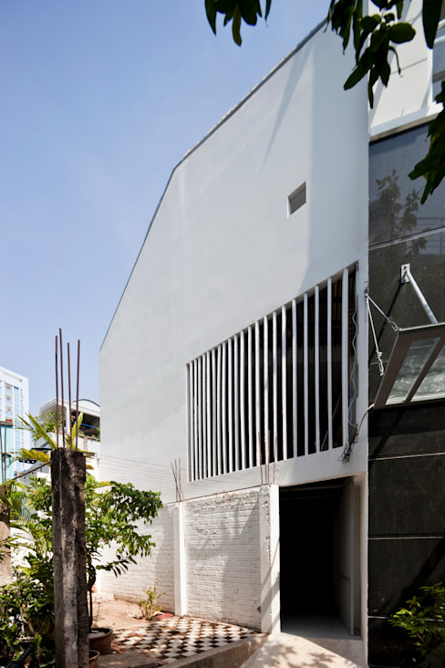 a21house:  Tường by a21studĩo
